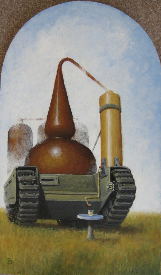 Self-Propelled Distillery