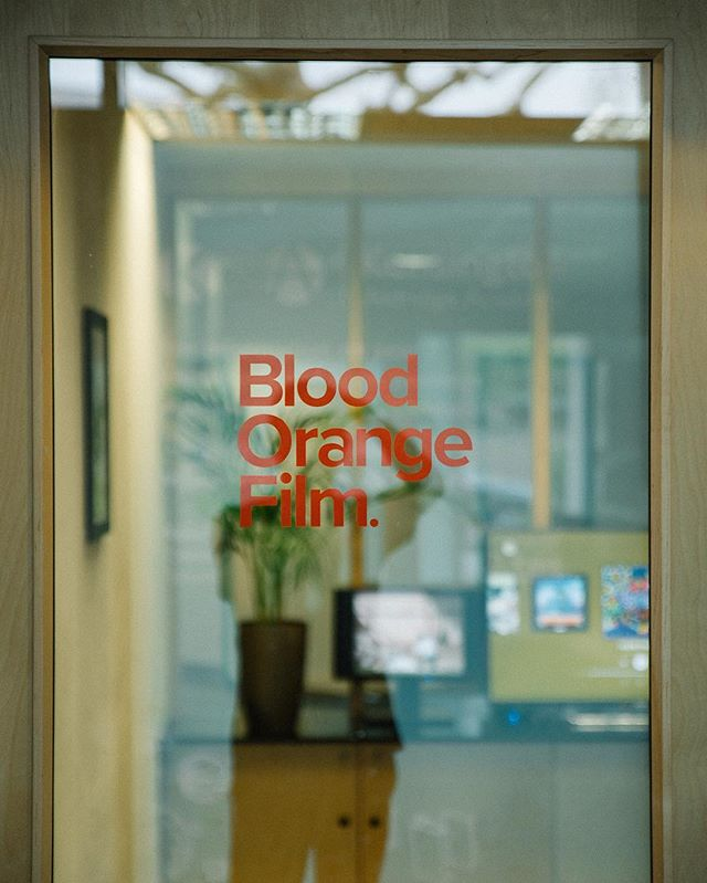 Pleased to announce the Blood Orange Office! We're just off Portobello Rd, come & say hi - bring snacks 🏭🖥📹