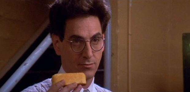 """"""" Based on this morning's sample, it would be a Twinkie thirty-five feet long, weighing approximately six hundred pounds."""" - Egon Spengler in Ghostbusters (1984)"""