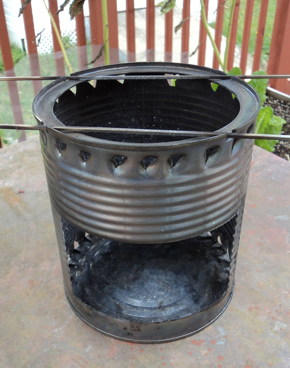 A hobo stove. (Vagrant. Hobo. Get it?) Photo Credit: Flickr / Creative Commons