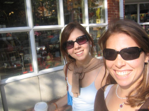 Zo and Ro, rocking around Princeton in 2005, 10 freaking years ago, 6 years into our best-friend-dom