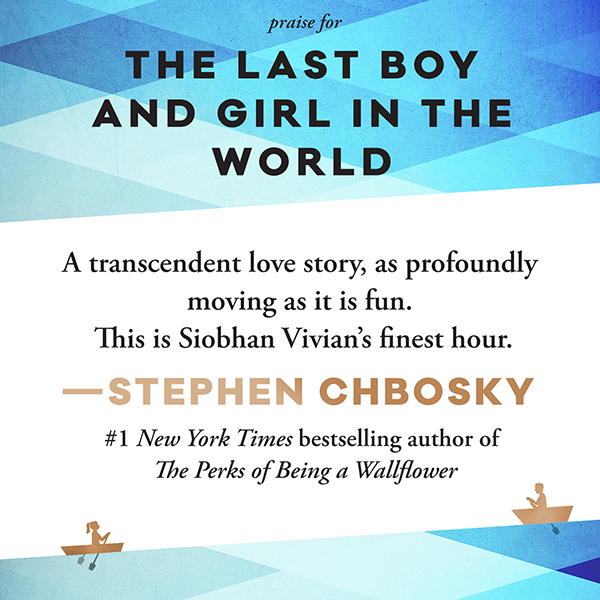 The Last Boy And Girl In The World Siobhan Vivian