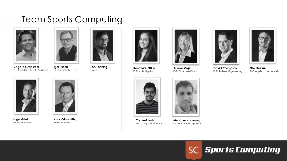 The Sports Computing team
