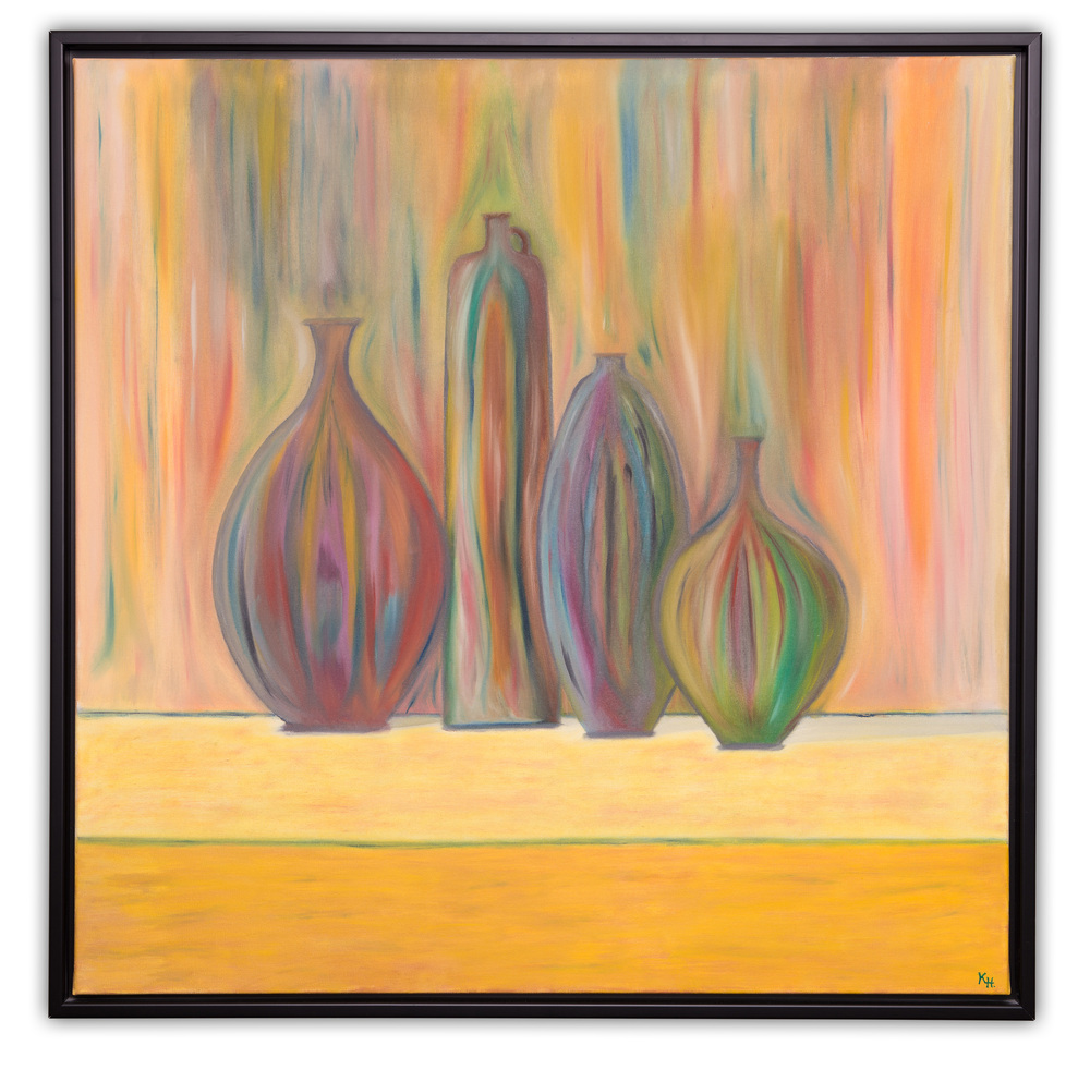 De fire vaser