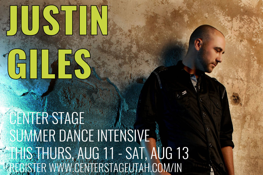 Justin Giles, Center Stage Summer Jazz Intensive