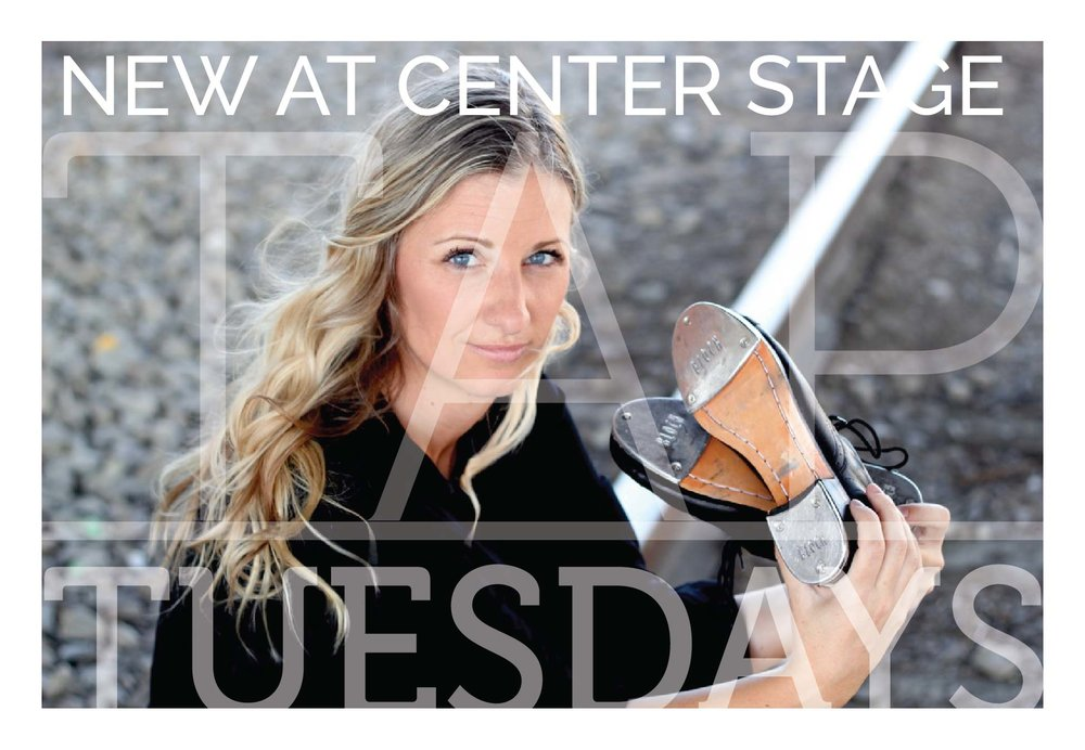Meet Wendi Isaacson, Center Stage's new Tap Instructor!
