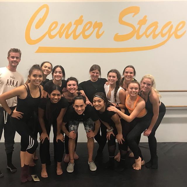 Taking it back last week with Jessie James! We ❤️ having our alumni come back to work with our students and we love this new piece.  Thank you Jessie and for all you do for us. @jessieannjames