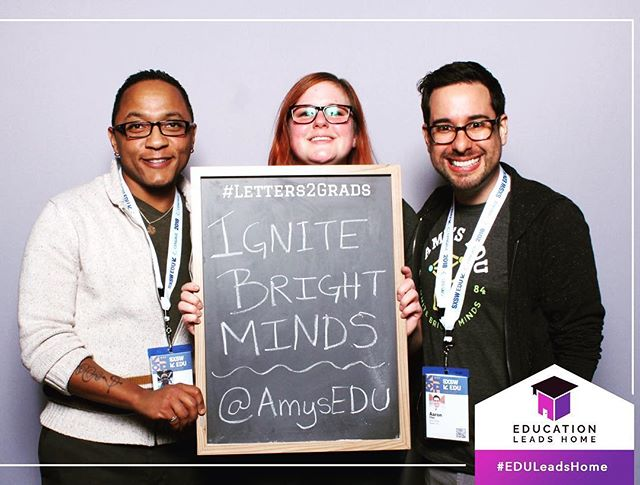 Learning more about how to put our mission into action and having a blast doing it! 🎓 #ignitebrightminds @sxswedu #eduleadshome #sxswedu