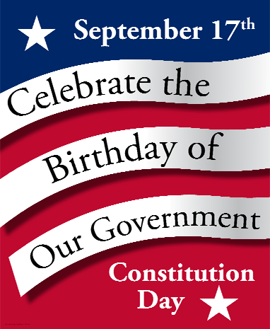 Tennessee has designated the week of Constitution Day Celebrate Freedom Week!   Sept 18-22 for 2017 Teachers send us a video or picture of your class with their Constitutions and we will feature it on the website and on our Facebook page!
