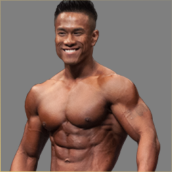 Jet Yi Peng National Level Men's Physique Champion