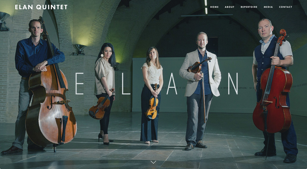 Elan Quintet Website