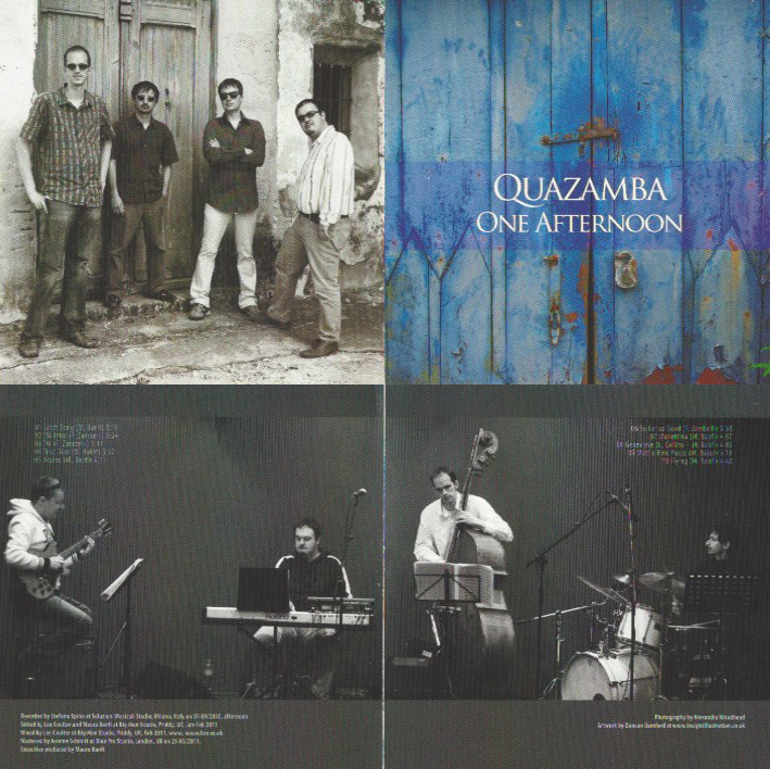 One Afternoon - Quazamba CD