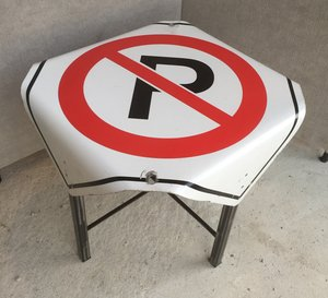 Road Sign Furniture And Decor The ReCYCLEr - Road sign furniture