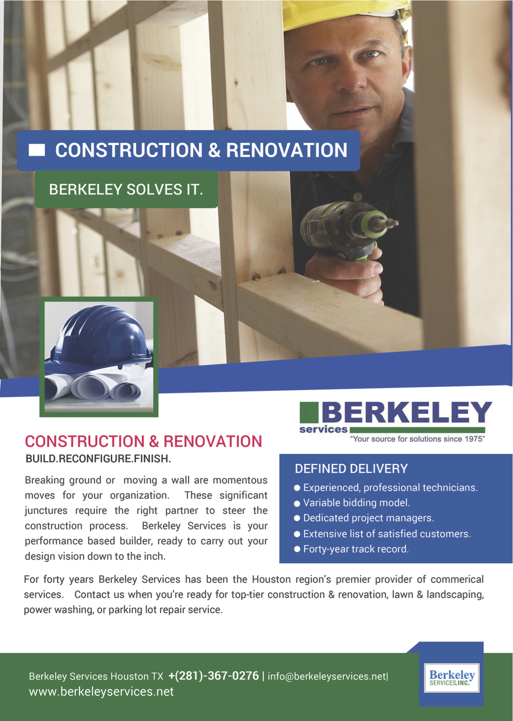 Construction services Houston