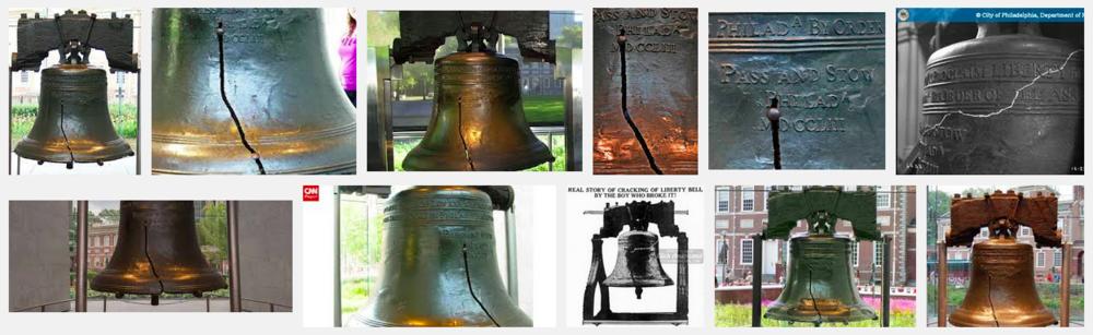 The Liberty Bell,  Philadelphia  PA