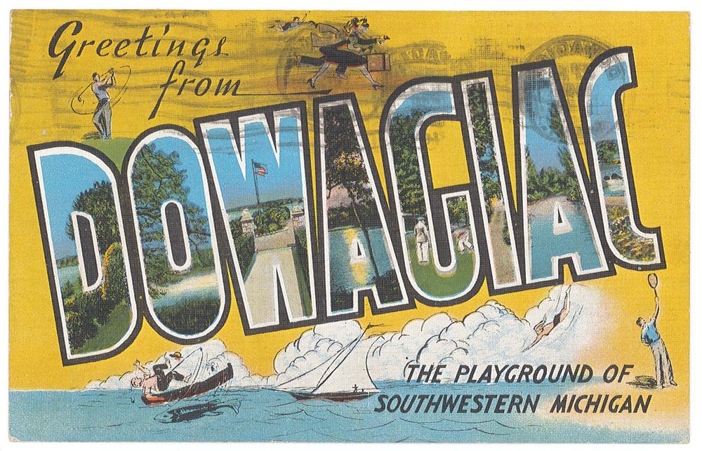 WLWLTDOO-1948-EPHEMERA-POSTCARD-DOWAGIAC-FRONT.png