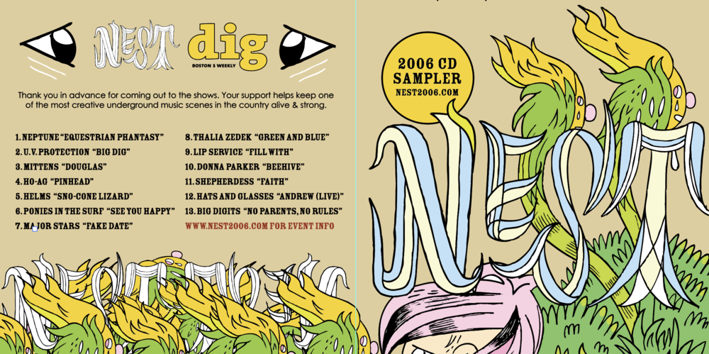 This CD was put out by our sponsors, The Weekly Dig, in advance of the series.