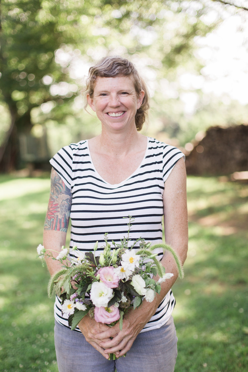 Kelly Morrison of Color Fields Farm is trailblazing the way in Durham, NC- she just started a flower hub where florists can buy from multiple farmers at once! And, she used to be my manager when we both worked at a farm in PA.