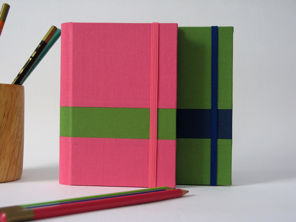 2016 Stripe Weekly Planners by Arte e Luar Bookbinding