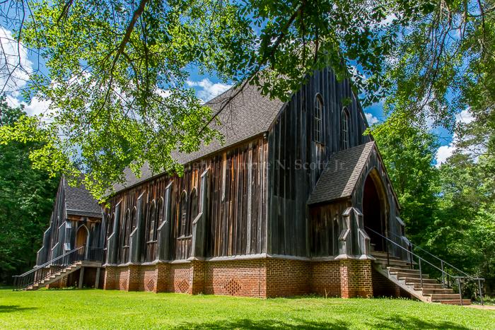 St. Luke's (Historic) Episcopal Church - Old Cahawba Architectural Park - Orrville. AL
