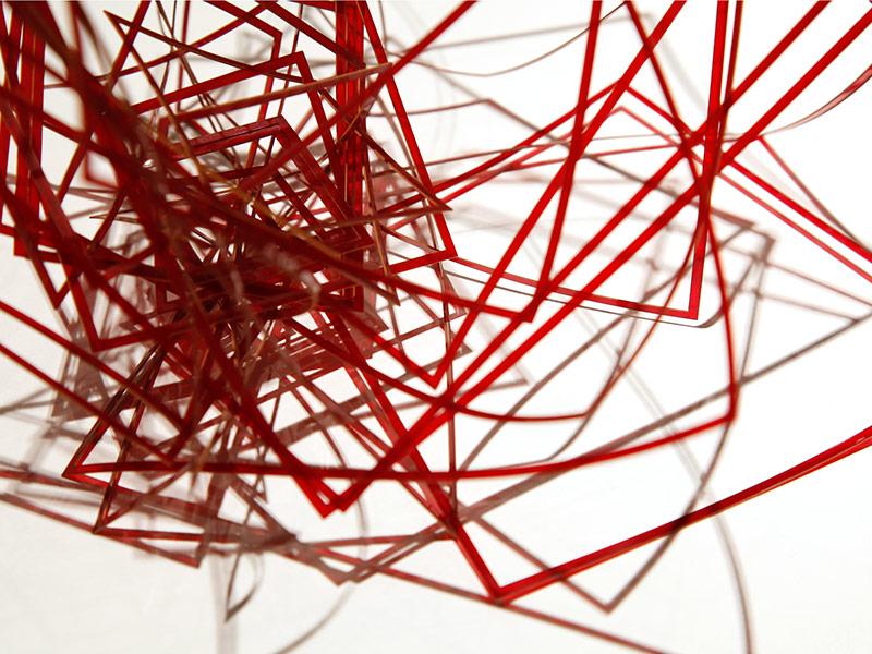 Detail: Rigid in Red (petite)