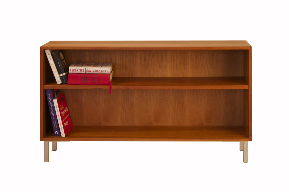 Mid-Century Modern Bookcase In Cherry — 57th Street Bookcase & Cabinet