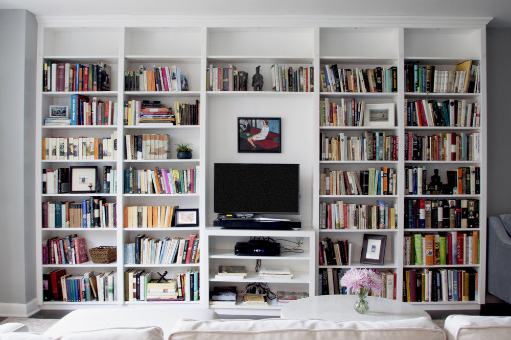 in white projects galleries columbia media custom and bookcases gallery cabinet maryland bookcase