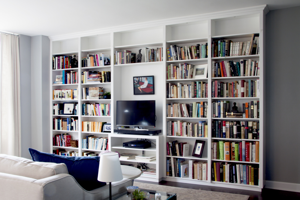 white bookcases indianapolis wall built custom in innovative bookshelves and bookcase
