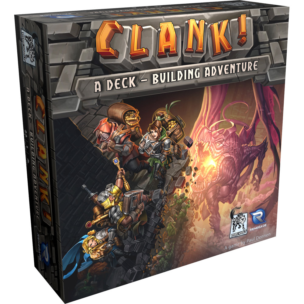 Copy of Clank! A Deck-Building Adventure