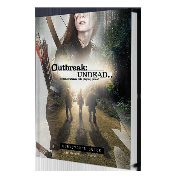 Survivors Guide: Outbreak Undead 2E: The Survival Horror Simulation RPG -  Renegade Game Studio