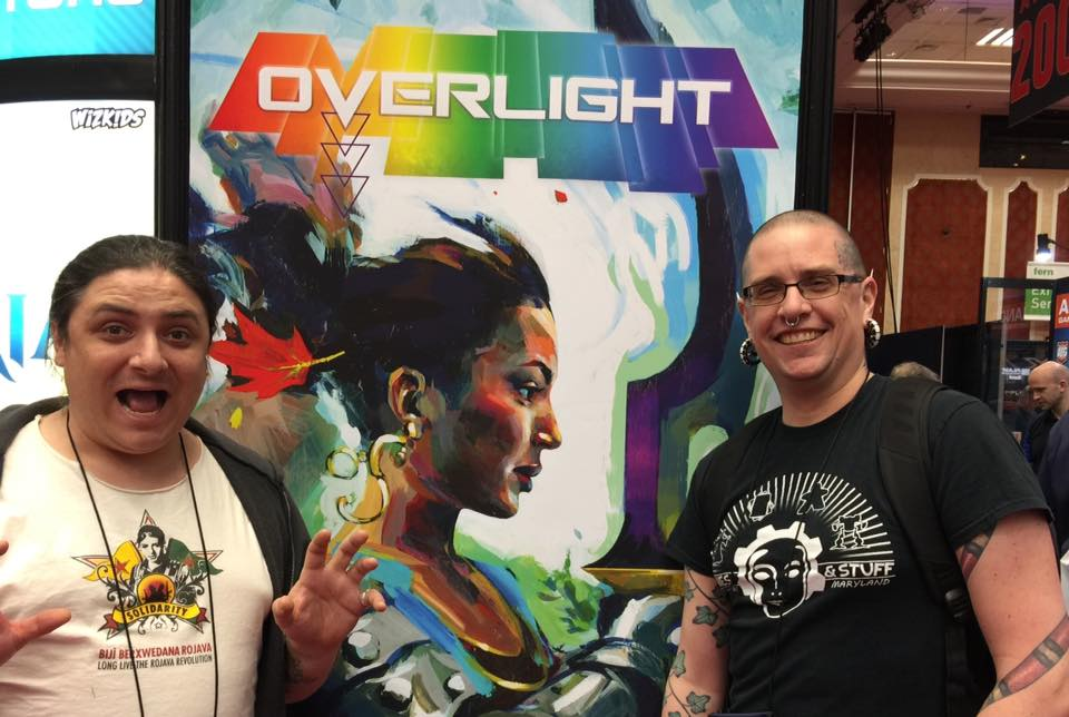 Paul and George show off Overlight at the GAMA Trade Show!