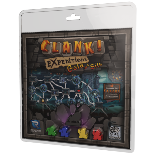 Clank Expeditions: Gold and Silk (T.O.S.) -  Renegade Game Studio