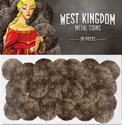 Architects of the West Kingdom Metal Coins (T.O.S.) -  Renegade Game Studio