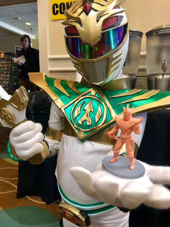 Baby Lord Drakkon and his figure!
