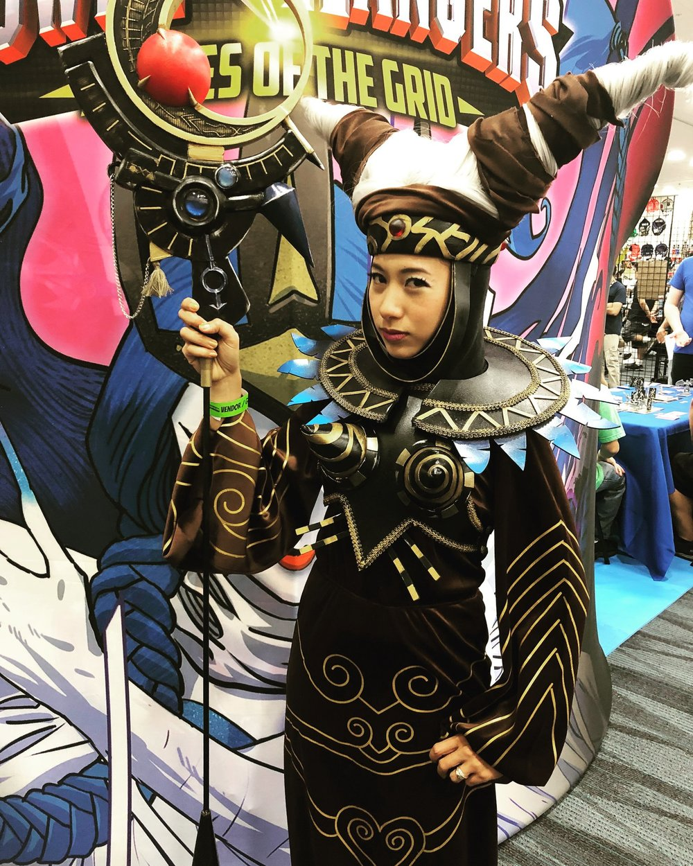 Malika Lim as Rita Repulsa!