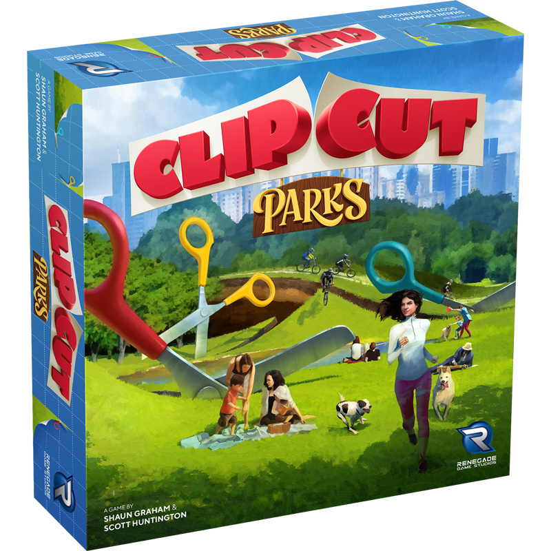 ClipCut: Parks -  Renegade Game Studio