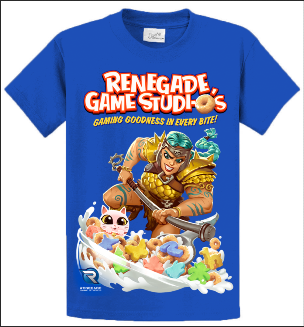 645069b6209553 Renegade Cereal T-Shirt - Gen Con Exclusive Pre-Order