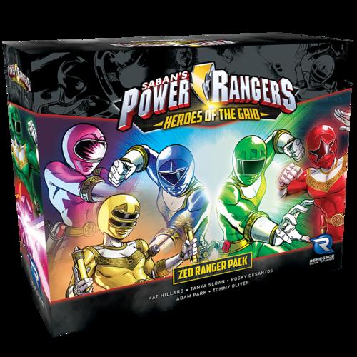 Power Rangers Zeo Ranger Pack