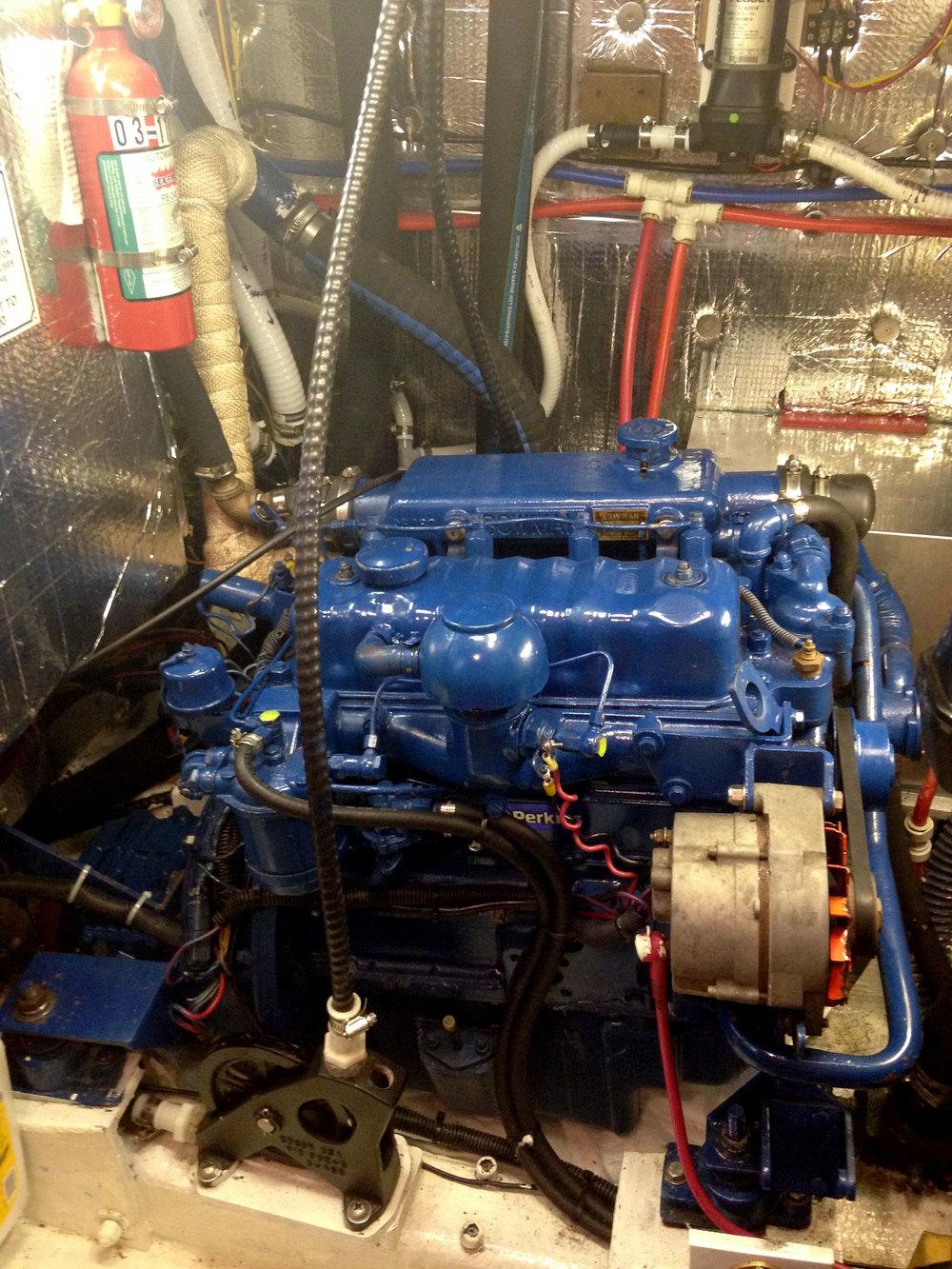 50 HP Perkins 4-108 rebuilt 2014