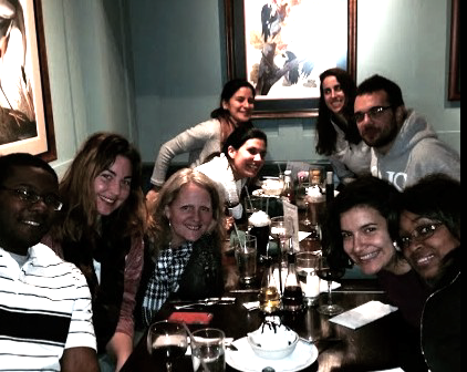 Brandon, Ina, Mary, Adriana (our founder), Gisela, Jess, Ivan, Josefina, Deborah, Kristin, Clarissa and Kathleen!