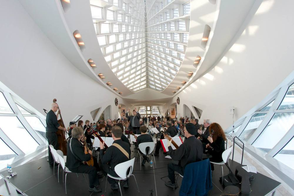 The MMO at MAM (Milwaukee Art Museum) - photo courtesy of Robert M. Powell