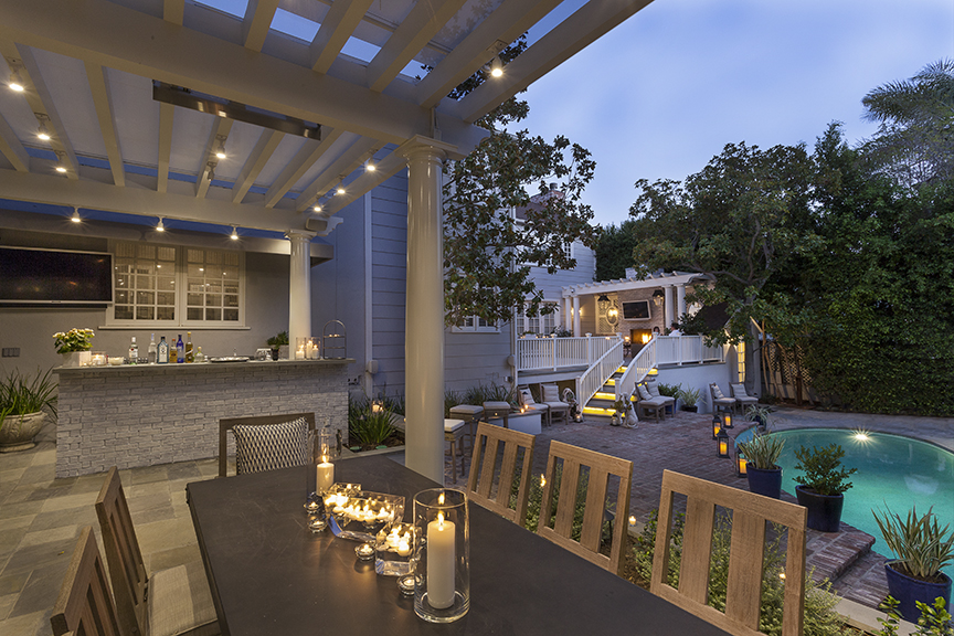 West Hollywood Outdoor Kitchen