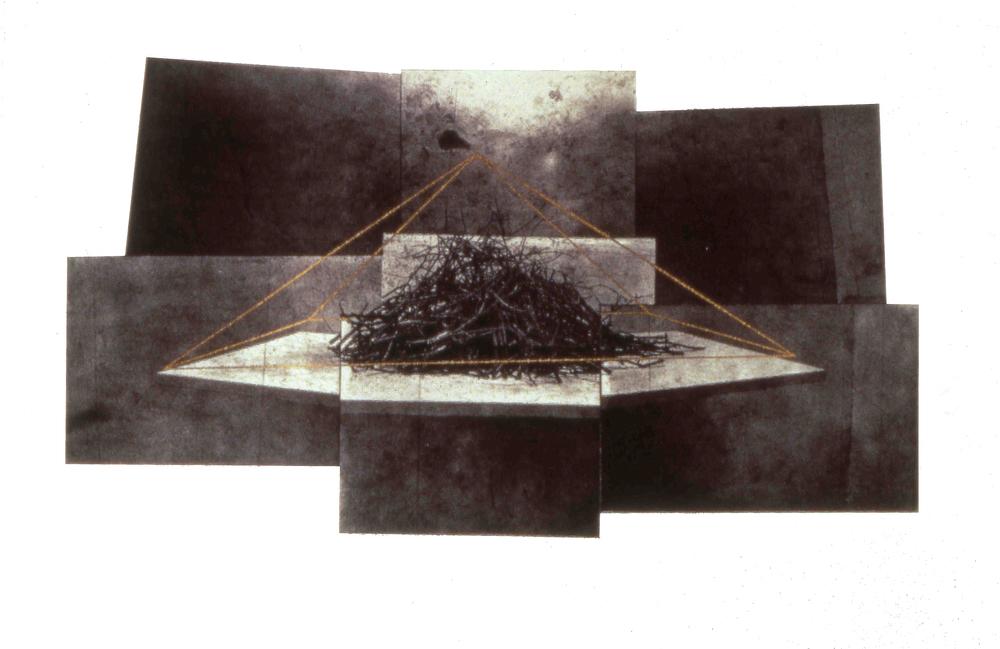 "untitled,1992, photo etching & screenprint, 11 x 16"""