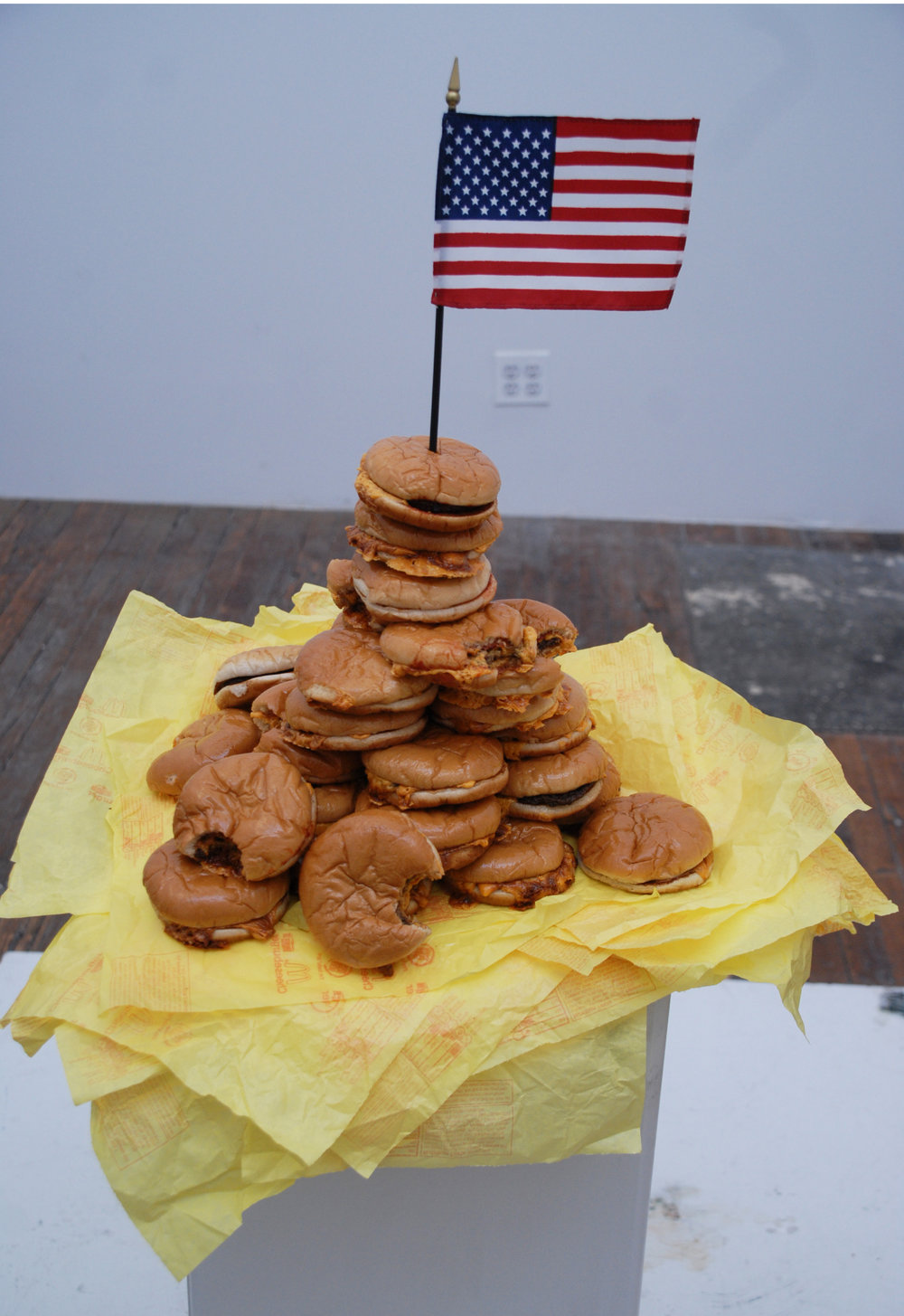 Joaquin Segura, The Battle of Hamburger Hill, 2008, mixed media sculpture, dimensions variable