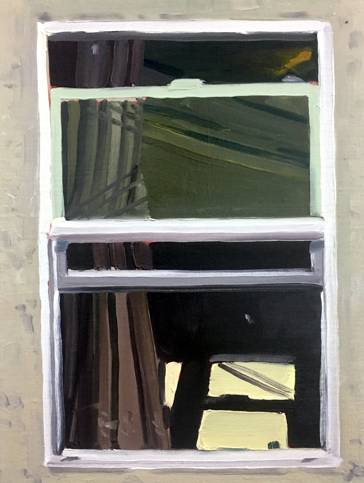 Open Window, 2017, oil on linen, 12 x 9 inches.  SOLD