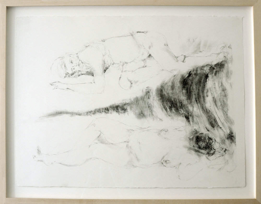 Sarah Creagen, Circles, 22 x 30 inches, graphite on watercolour paper, 2015.jpeg
