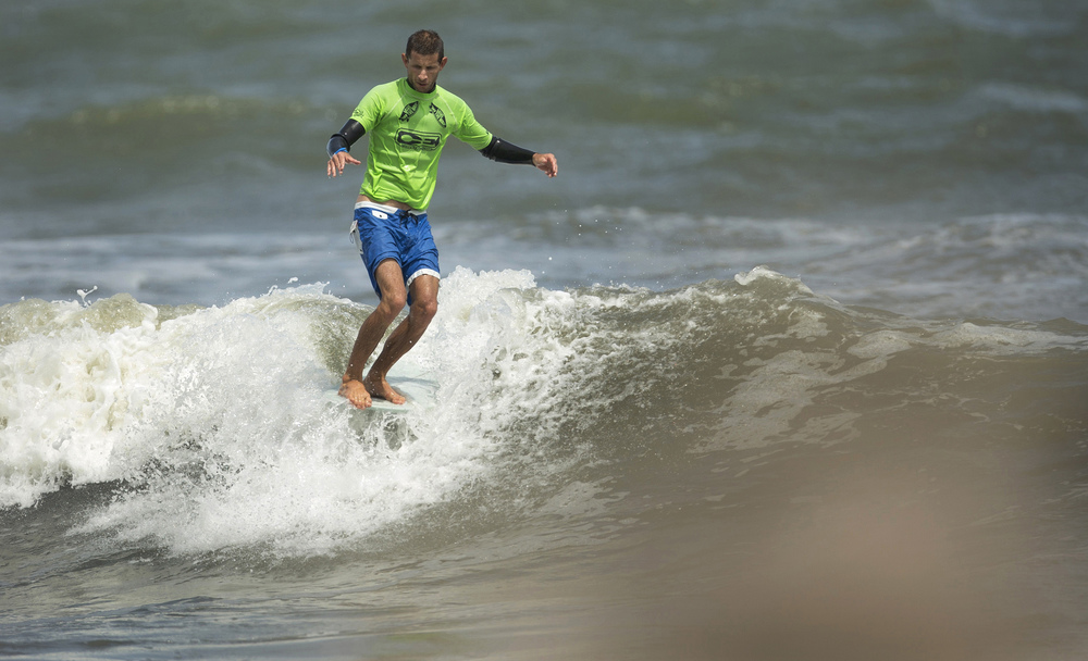 2013, Joel Tudor during the Coastal Edge ECSC.