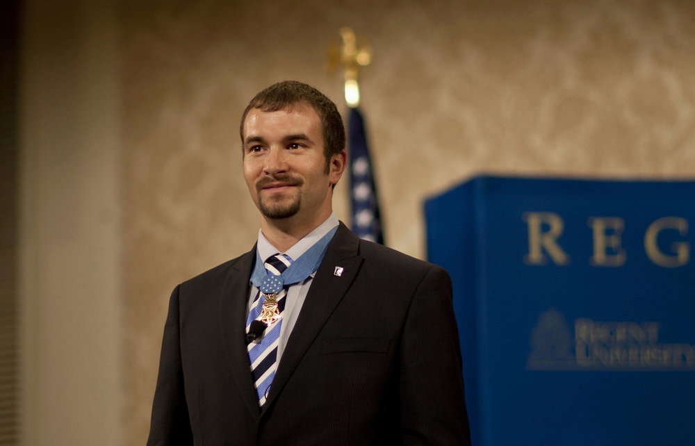 Sal Giunta, the first living Medal of Honor recipient since the Vietnam war and author of, Living With Honor.