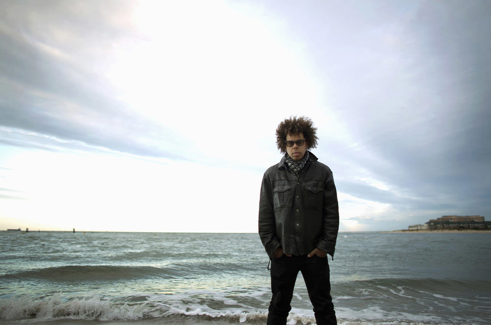 Portrait of musician Jake Clemons, the nephew of the late Clarence Clemons.