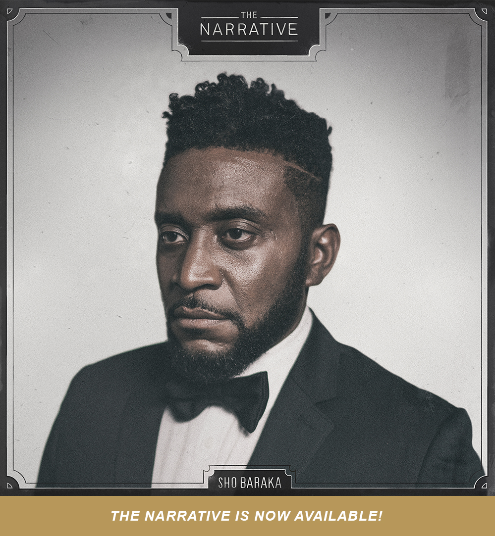 As always, we want to show radical generosity, so we are offering The Narrative by Sho Baraka as a free download through our website as a gift.  Get it here.